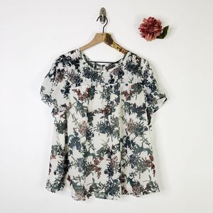 VINCE CAMUTO Heirloom Floral Blouse